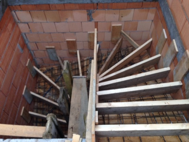 Treppe Betonieren kanefzky bau gmbh bau ausbau sanierung